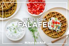 Falafel Waffles Recipe