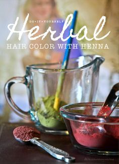 DIY Herbal Hair Color With Henna | Bulk Herb Store Blog | Ever wanted to dye your hair naturally? Today we're sharing how you can do it with henna!