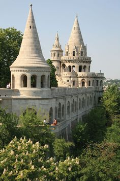 Fisherman's Bastion in Budapest, Hungary #europe #travel