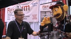 Flex Arm, Inc at the IWF Atlanta, 2014 - My Dad's Garage - A fun visit with Flex Arm, Inc! www.flexarminc.com If you love robot arms, you'll love Flex Arm!! Thanks for spending some time with us for Junior! ~ E.W. Tinker