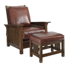 Grove Park Morris Chair by Bassett Mission/Craftsman/Prairie Style Living Room Furniture Craftsman Style Furniture, Craftsman Decor, Craftsman Chairs, Craftsman Homes, Mission Chair, Mission Furniture, Woodworking Furniture, Wood Furniture, Porch Furniture