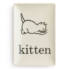 Rosanna Flashcard Kitten Tray found on Layla Grayce #laylagrayce #giftsunder50