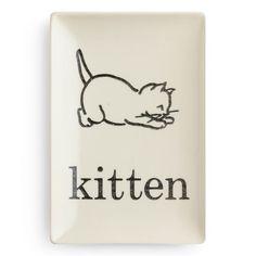 Rosanna Flashcard Kitten Tray found on Layla Grayce #laylagrayce #giftsunder50