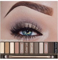 Eye Makeup Tips.Smokey Eye Makeup Tips - For a Catchy and Impressive Look Pretty Makeup, Love Makeup, Makeup Inspo, Makeup Inspiration, Makeup Looks, Makeup Tips, Makeup Ideas, Beauty Make-up, Beauty Hacks