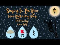 General Music Classroom, Art Classroom, Music For Kids, Kids Songs, Music Activities, Toddler Activities, Elementary Music Lessons, Music And Movement, Singing In The Rain