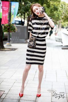 6 Top K-Drama Characters With Unrivalled Fashion Sense — Koreaboo Kpop Fashion, Asian Fashion, Fashion Beauty, Asian Woman, Asian Girl, Jin Kim, Lee Sung Kyung, Weightlifting Fairy Kim Bok Joo, Korean Actresses