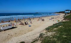 Sawtell Beach www.parkmyvan.com.au #ParkMyVan #Australia #Travel #RoadTrip #Backpacking #VanHire #CaravanHire‬‬‬