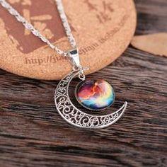 Sailor Moon Crescent Cabochon Necklace