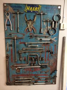 Hazet toolboard, I wish this was in my garage.