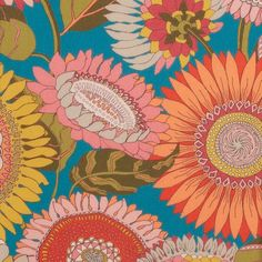 Sunflower Tana Lawn™ Cotton - Liberty Fabrics' Sunflower is lustrously detailed and rich in colour – printed in Liberty's Italian fabric mill, on our inimitable Tana Lawn cotton.