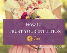 It can be tricky to know how to trust your intuition in today's world where logic rules. These 8 easy tips will get your intuition rockin' and rolling.