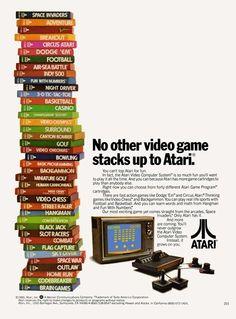 Atari video game Ad