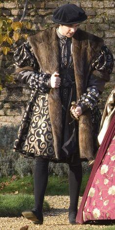 George Boleyn's black wardrobe (The Other Boleyn Girl, 2008).