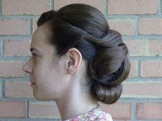 Flawless vintage-style wedding hair   Offbeat Bride