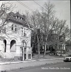 800 block of Russell St, North Side. Home on the left is now gone....  Note the phone booth