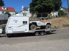 Homemade Toy Hauler Camper Google Search