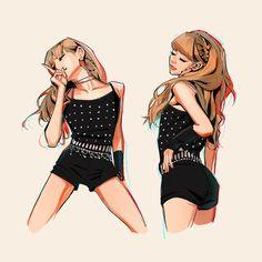 Lisa Lalisa Manoban Fan art Blackpink LISA Fan art Lisa Blackpink [lalalalisa_m] South Korean Girls, Korean Girl Groups, Mononoke Cosplay, Kpop Anime, Chibi, Lisa Blackpink Wallpaper, Kpop Drawings, Black Pink Kpop, Blackpink Photos