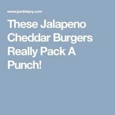 These Jalapeno Cheddar Burgers Really Pack A Punch! Ketogenic Recipes, Low Carb Recipes, Cooking Recipes, Cooking Ideas, Food Ideas, Craft Ideas, Beef Ham, Pork, Jalapeno Cheddar