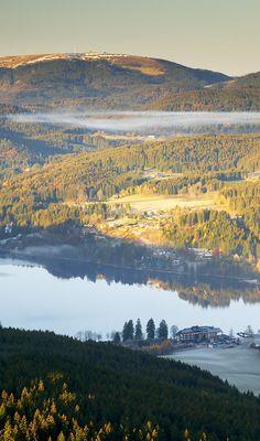 Titisee und Feldberg (Schwarzwald)