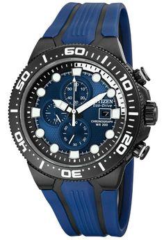 Citizen Eco-Drive Scuba Fin Chronograph Watch