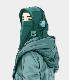Lenka-Trouble is friend-Ska version Cute Cartoon Wallpapers, Cartoon Pics, Girl Cartoon, Cartoon Art, Hijabi Girl, Girl Hijab, Vector Character, Portrait Vector, Hijab Drawing