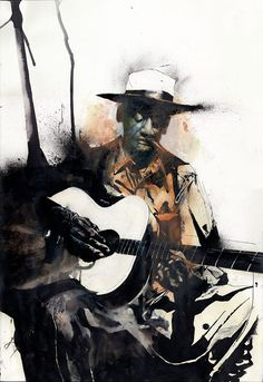 """Blues 3"" by Jason Shawn Alexander"