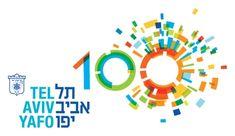 Tel Aviv 100 -- Poster for festivities of Tel Aviv 100th