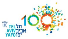 Tel Aviv 100 -- Poster for festivities of Tel Aviv 100th