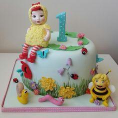 maya the bee and baby cake