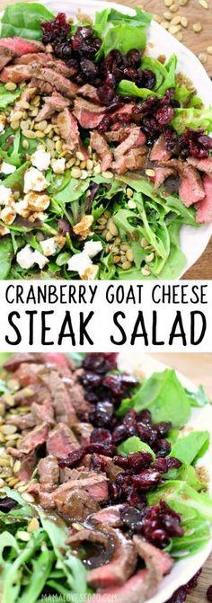 STEAK SALAD RECIPE #steaksalad #steak #salad