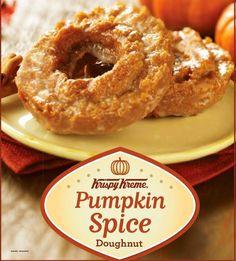 Pumpkin Flavored Doughnuts