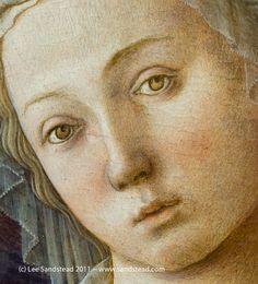 FILIPPO LIPPI (Fra) - Madonna con Bambino, dettaglio - c. 1440 - National Gallery of Art, Washington