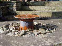 Artistic Fountain Fountain Maureen Gilmer Morongo Valley, CA