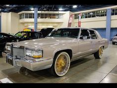 Cadillac Owner- on IG Dayton wire wheels with vogues tires Cadillac Xts, Cadillac Eldorado, Rims And Tires, Rims For Cars, Pimped Out Cars, Slab City, Donk Cars, Cadillac Fleetwood, Old School Cars