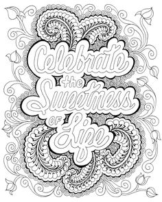 Zendoodle Coloring: Happy Thoughts: Joyful Artwork to Color and Display: Bonnie Lynn Demanche