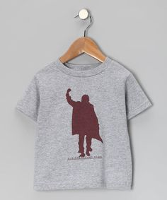 Look at this #zulilyfind! Heather Gray Bender Tee - Toddler & Kids #zulilyfinds