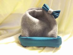 Teal and Gray Retro Chic Baby Toddler and Girl's by BabyHatIsland, $18.00