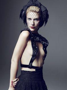 Mark Abrahams shoots Claire Danes for Harper's Bazaar Russia, June 2012