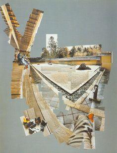 david hockney photo collage | David Hockney.