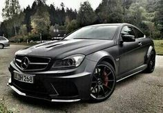 Mercedes CLS AMG wide body coupe