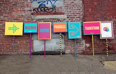 conference wayfinding design - Google Search
