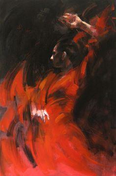 Oil Painting : Dance