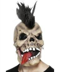 Discover a huge range of fancy dress costumes at cheap prices. Halloween Party Decor, Halloween Masks, Halloween Face Makeup, Fancy Dress Accessories, Gothic Accessories, Punk Costume, Skeleton Mask, Punk Outfits, Punk Fashion