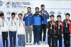 #SPOTLIGHT : 27 - JUNE - 10:00 AM  India win team bronze in 25m rapid fire pistol in Jr WC  भारत को जूनियर विश्व कप में 25 मीटर फायर पिस्टल में कांस्य  http://www.mahendraguru.com/2017/06/spotlight-27-june-1000-am.html  SUBSCRIBE US:- www.youtube.com/c/MahendraGuruvideos Join us:- FACEBOOK - www.facebook.com/Emahendras/ INSTAGRAM- www.instagram.com/mahendra.guru/ TWITTER- twitter.com/Mahendras_mepl PINTEREST -in.pinterest.com/gurumahendra/ VISIT OUR WEBSITE- www.mahendraguru.com/ Google…