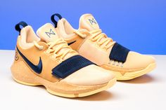"""3f436be824c Paul George's Nike PG 1 """"Wild West"""" PE released exclusively at Foot  Locker's House"""