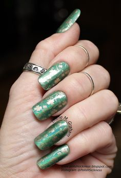 Nubar Reclaim, Essie Good as Gold, FabUrNails FUN13, St. Patrick's Day