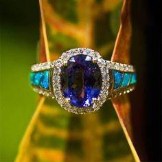 Image result for vintage opal engagement rings