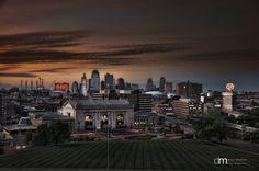 """""""Downtown Kansas City"""" by Dale Martin, via 500px."""