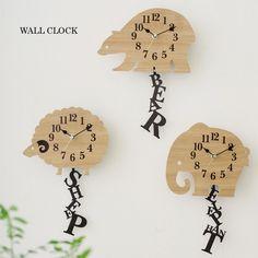 北欧 壁掛け時計 ELEPHANT(エレファント)