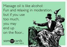 Everything in moderation...